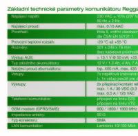 (Čeština) Technické parametry Reggae GLTbz