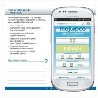 (Čeština) Software mojePCO – webová aplikace pro zjištění stavu hlídaného objektu – verze pro chytré telefony. Umožňuje ovládání zařízení na hlídaném objektu.