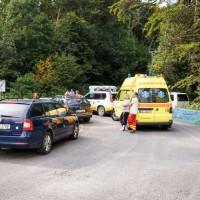 Paramedics and emergency vehicles
