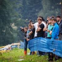 Rally spectators