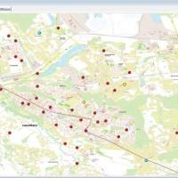 (Čeština) Mapa veřejného osvětlení města Havířov